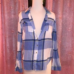 Maurice's Flannel with Lace Sides